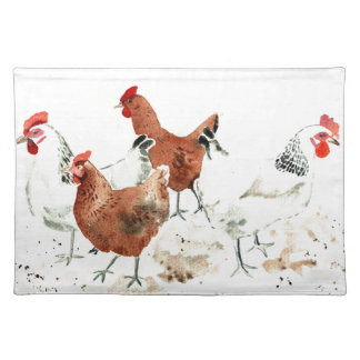 Hens Placemat