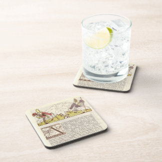 Heorhiy Narbut-How mice buried the cat Drink Coaster