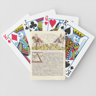 Heorhiy Narbut-How mice buried the cat Poker Deck