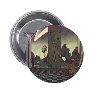 Heorhiy Narbut- Organ 6 Cm Round Badge