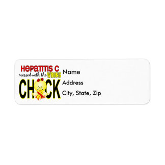 Hepatitis C Messed With Wrong Chick Return Address Label