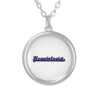 Hepatologist Classic Job Design Round Pendant Necklace