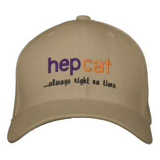 Hepcat - Right On Time cap Embroidered Baseball Caps