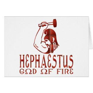 Hephaestus Greeting Card