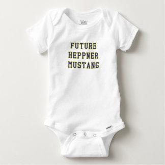 Heppner Mustang Baby Onesie