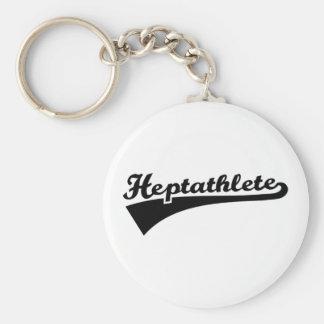 Heptathlete Key Ring