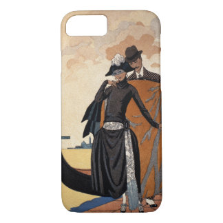 Her and Him, Fashion Illustration, 1921 (pochoir p iPhone 8/7 Case