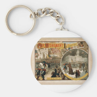 Her Atonement, 'Off to the War 62' Vintage Theater Keychains