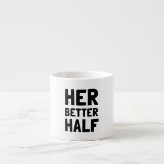 Her Better Half Espresso Mug