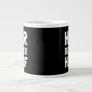 Her Better Half Jumbo Mug