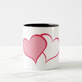 Her BETTER HALF SHE+she (1 of 2) Two-Tone Coffee Mug