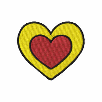 Her Heart Custom Monogrammed Embroidered Shirt