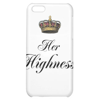 Her Highness (part of his and hers set) Cover For iPhone 5C