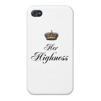 Her Highness (part of his and hers set) iPhone 4 Cover