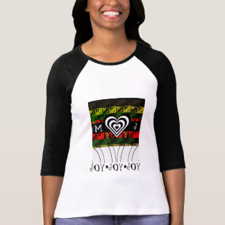 Her Joy and Jingle Edgy Elf Holiday Style 3 T-Shirt