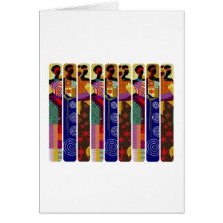 Her Kwanzaa Kwanzaa Holiday Greeting Cards