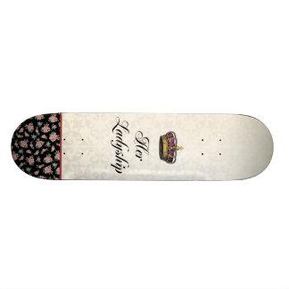 Her Ladyship 18.1 Cm Old School Skateboard Deck