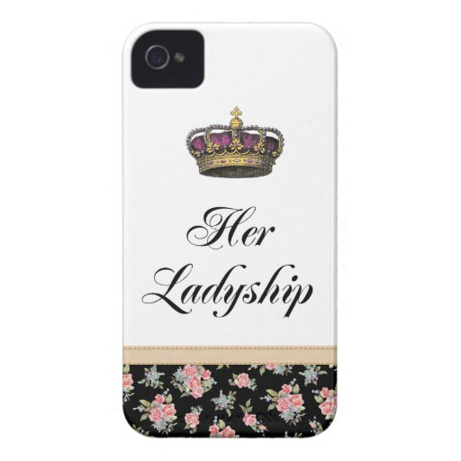 Her Ladyship iPhone 4 Case-Mate Cases