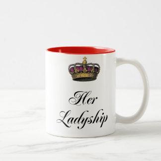 Her Ladyship Two-Tone Mug