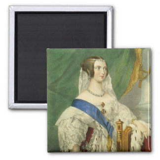Her Most Gracious Majesty, Queen Victoria (1819-19 Square Magnet