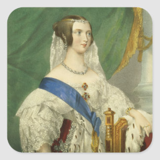 Her Most Gracious Majesty, Queen Victoria (1819-19 Square Sticker