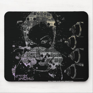 Her On The Wall Mouse Pad
