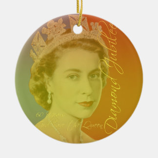 Her Royal Highness Round Ceramic Decoration