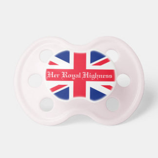Her Royal Highness Royal Baby Pacifiers