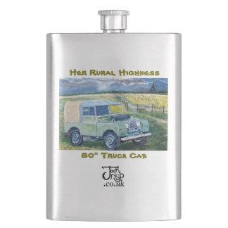 Her Rural Highness Hip Flask. Hip Flasks