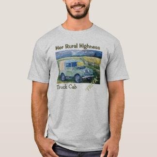 """Her Rural Highness Truck Cab """"FREYA"""" T-Shirt"""