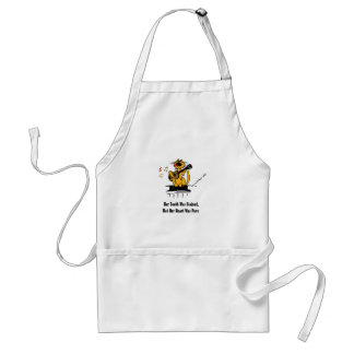 Her Teeth Was Stained, But Her Heart Was Pure Standard Apron