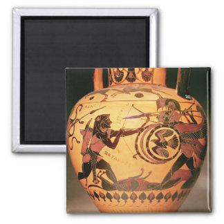 Heracles fighting Geryon Magnet