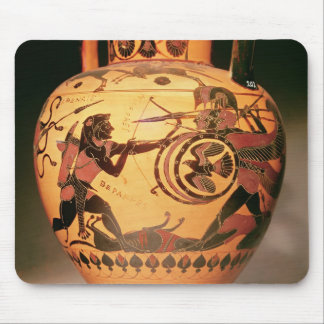 Heracles fighting Geryon Mouse Mat