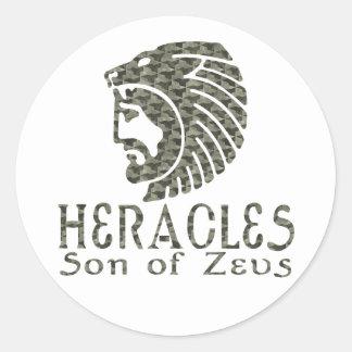 Heracles Round Sticker