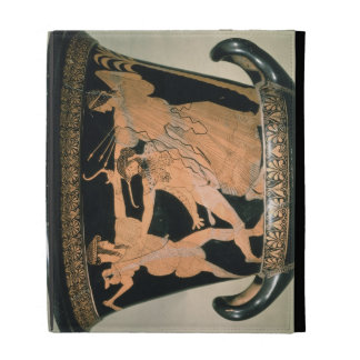 Herakles Struggling, detail from an Attic red-figu iPad Cases