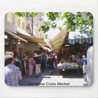 Heraklion Crete Market Mouse Pads