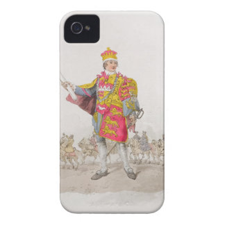 Herald, from 'Costume of Great Britain', published iPhone 4 Cover
