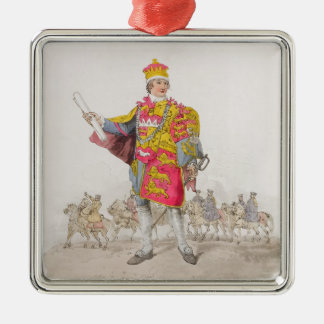 Herald, from 'Costume of Great Britain', published Christmas Ornament