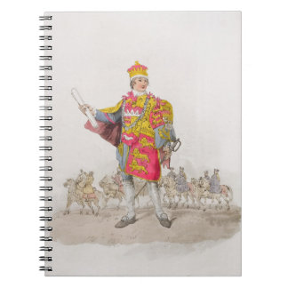 Herald, from 'Costume of Great Britain', published Notebook