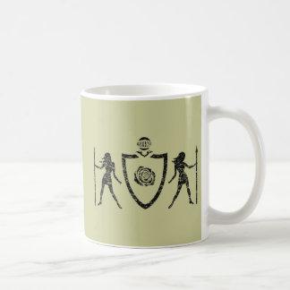 Heraldic Blazon Rose Mug
