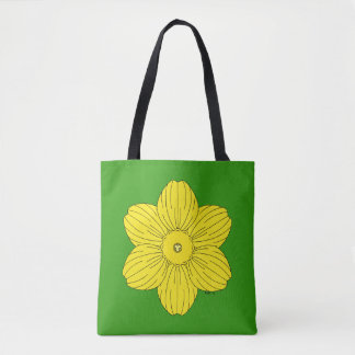 Heraldic Daffodil Tote Bag