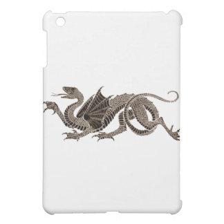 Heraldic Dragon in Sepia Case For The iPad Mini