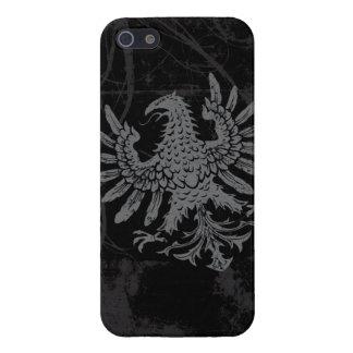Heraldic Eagle Grunge iPhone 5/5S Case