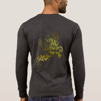 Heraldic Gold Lion - MyBlazon s T-shirts for men