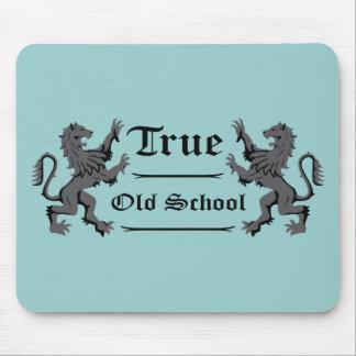 """Heraldic Lions """"True Old School"""" - Mousepad"""