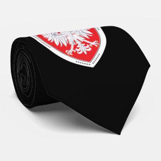 Heraldic Polish Eagle Tie