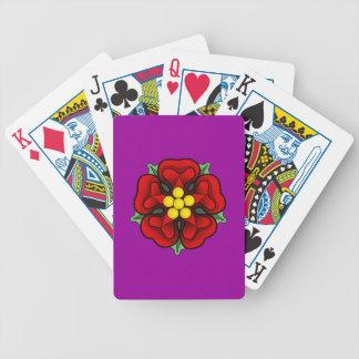 Heraldic Rose Deck Of Cards