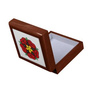 Heraldic Rose Giftbox Trinket Box
