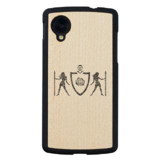 Heraldic Rose Google Nexus 5 Case Carved® Maple Nexus 5 Case