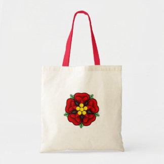 Heraldic Rose Tote Budget Tote Bag